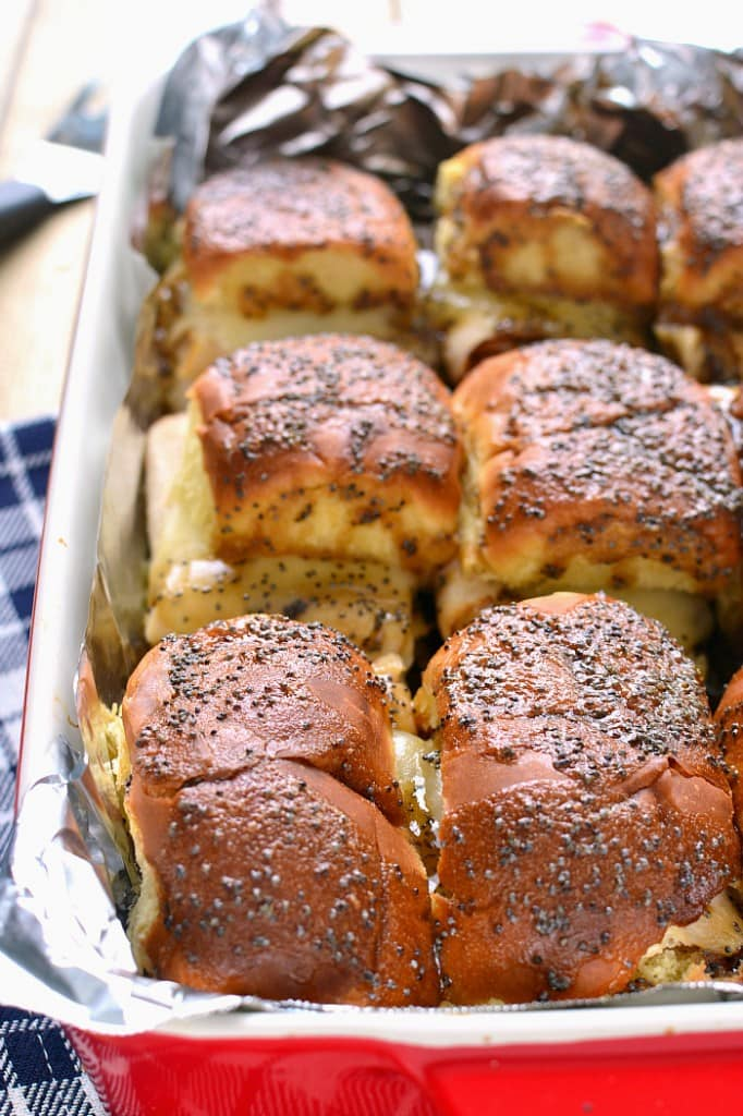 Sweet Roll Sliders for a Pinterest Party