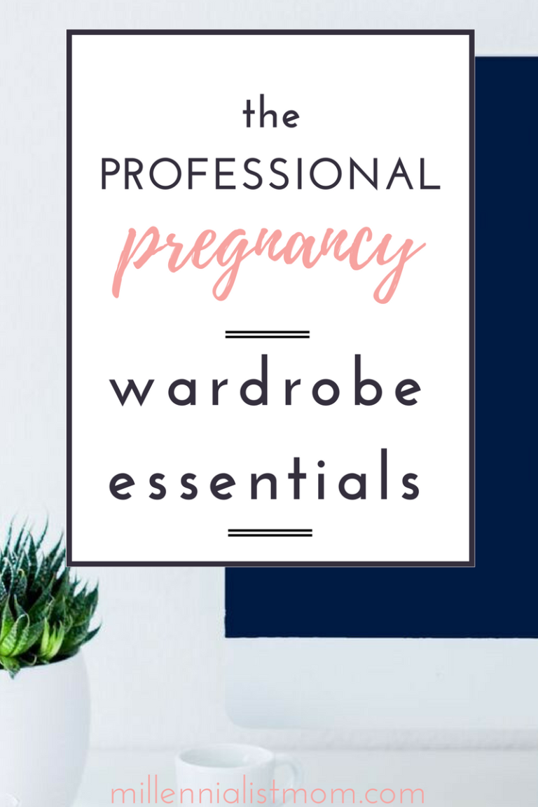 professional pregnancy wardrobe essentials