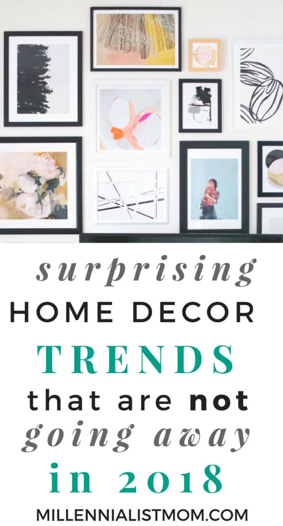 surprising home decor trends