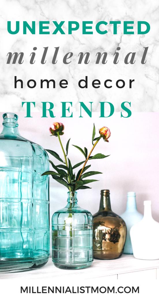 unexpected home decor trends amongst millennials