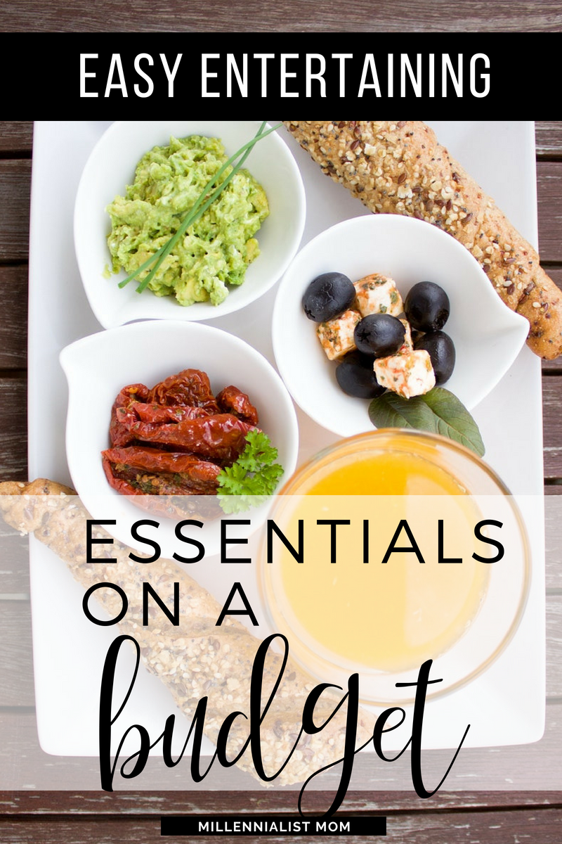 We never had more than the basics when it came to dishes. So when I decided to host thanksgiving, it was time to buy dishes, table linens, etc! My tight budget and frugal lifestyle made it simple. Stick to the basics! These are my easy entertaining essentials on a budget #minimalism #entertaining #diningroomideas #frugallifestyle