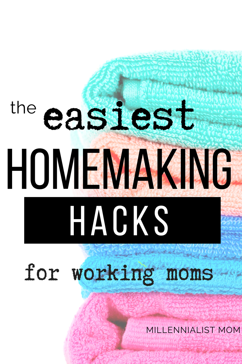 Yasss homemaking made easy! Snag these hacks for #workingmoms to keep up with housekeeping and homemaking with no time to spare. These lazy hacks are perfect for busy moms and generally just simple living