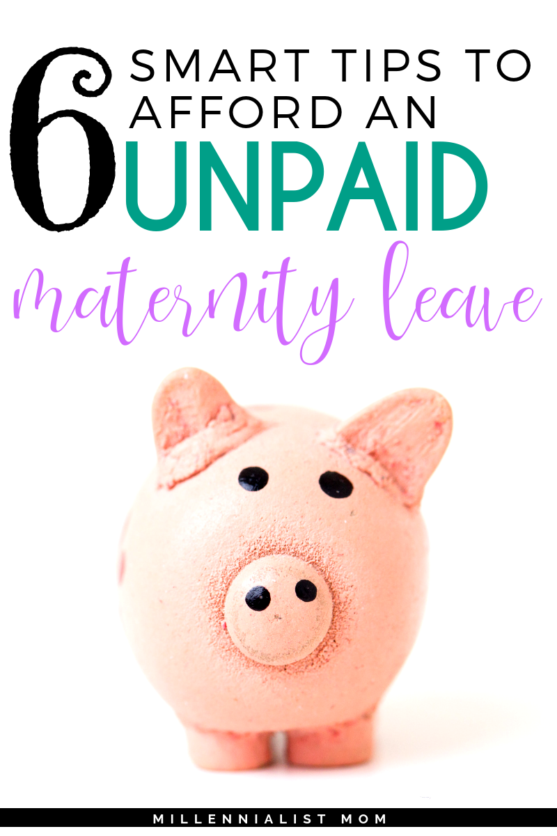 My maternity leave savings plan depending on one income: MINE. It was easy, at least easier than I thought. Click here to learn more about my 6 smart tips to afford an unpaid maternity leave as a single mom (at least when it came to income). I was the sole breadwinner and obvious baby-haver. Being a new mom with a full-time job got a lot easier when I was able to maximize my unpaid maternity leave.
