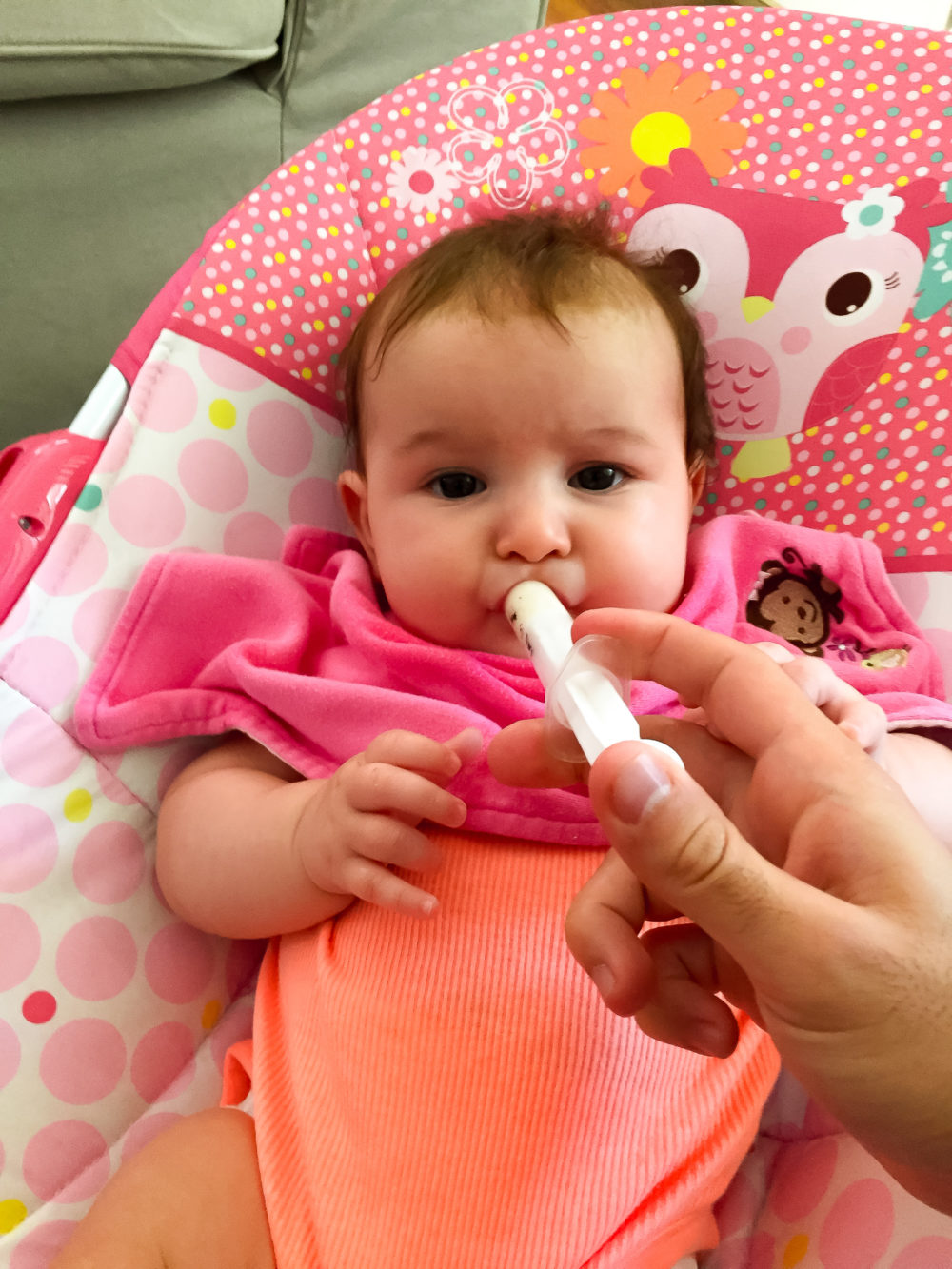 what to do when baby won't take a bottle? syringe feeding my bottle-hating breastfed baby