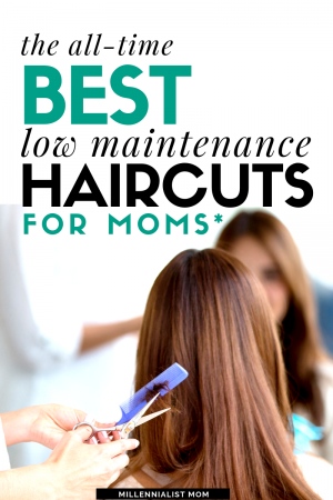 Easy, simple, low maintenance haircuts for busy moms because ain't nobody got time for that...! When it comes to self care, i'm short on time. So looking good as a mom has to come as quickly as possible.
