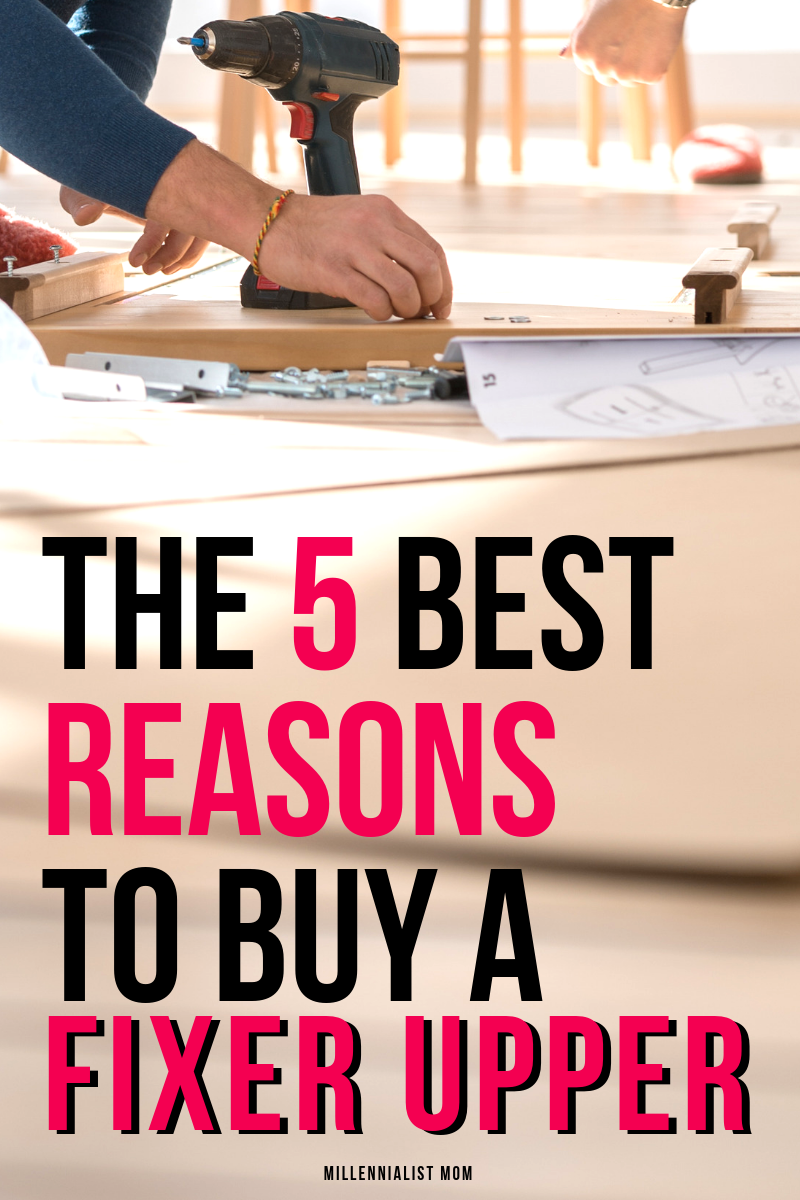 Don't let your dreams of home ownership mislead you. You do NOT need a turn key house. Want to know the secret to buying your dream home? Buy low. Read the 5 best reasons to buy a fixer upper & why I HATE model homes.